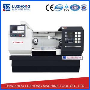 Ck6136 Ck6140 Ck6150 Automatic Horizontal Flat Bed CNC Lathe Machine pictures & photos