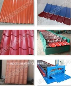 Red Color Corrugated Roof Sheet pictures & photos