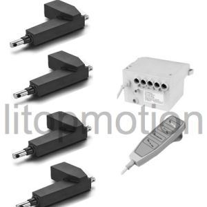 4 PCS Linear Actuators Kits, 8000n