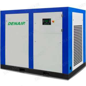 Electric Driven Stationary Rotary Screw Industrial Air Compressor Price pictures & photos