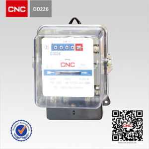 CNC DD226 Type Single-Phase Long Life Active Watt-Hour Meter pictures & photos