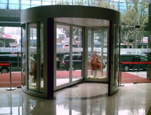 2-Wing Automatic Revolving Door pictures & photos