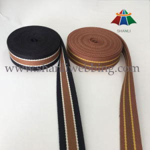 2016 Wholesale Colorized Striped Color Canvas Webbing for Bag Handles and Shoulder Straps pictures & photos