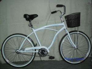 Popular with Front Basket Simple Beach Bike (FP-BCB-C019) pictures & photos
