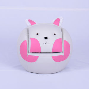 Fashionable Baby Rabbit Sofa Chair with Stool/Children Furniture (SXBB-24-01) pictures & photos