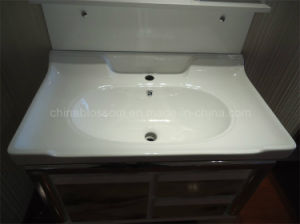 Colored Classic Bathroom Sink Cabinet 2016 (BLS-17346) pictures & photos