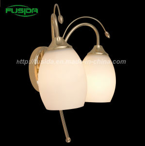 European Style Glass Wall Lamp/Wall Sconce for Decoration (8103/2W) pictures & photos