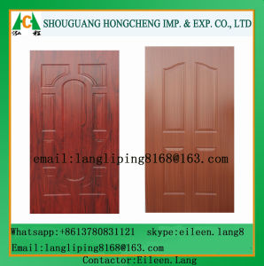 Natural Veneer HDF Moulded Door Skin pictures & photos