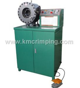 3inch Hydraulic Hose Crimping Machine Km-91m for South American Market pictures & photos