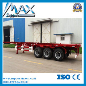40ton Container Skeleton Semi Trailer Container Trailer pictures & photos