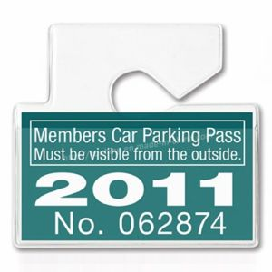 Paper Car Parking Pass Hang Tag pictures & photos