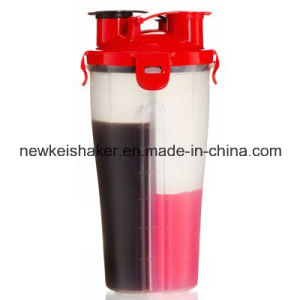 BPA Free 600ml Protein Blender Shaker Bottle with Stainless Steel Mie Wire Ball pictures & photos