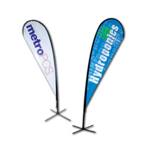 Teardrop Banner Flying Flag Telescopic Beach Guide Flagpole pictures & photos