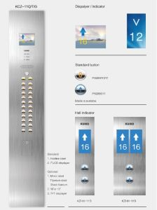 Kjx-Jd208hotel Elevator Passenger Lift Titanium Mirror Steel pictures & photos