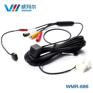 Waterproof OBD Car Rearview Camera with Dynamic Reverse Track pictures & photos