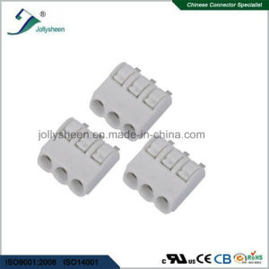 PCB Spring Terminal Block Connector SMT pH4.0mm with Grey Housing pictures & photos