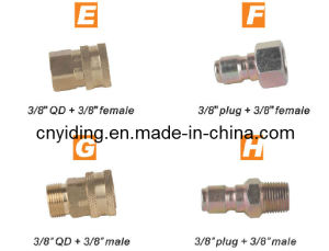 "Pressure Washer Brass Joint (3/8QD + 3/8"" female) pictures & photos"