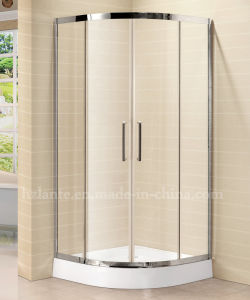 8mm Tempered Glass Simple Shower Room with Stainless Steel Frame (LTS-022) pictures & photos