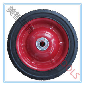 6/7/8/10 Inch America Widely Used Semi-Pneumaitc Barrow Wheels pictures & photos