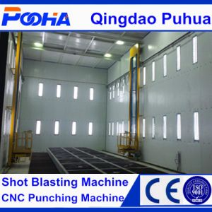 Q26 Abrasive Automatic Air ISO/Ce Sand Blast Cleaning Room with Recovery System pictures & photos