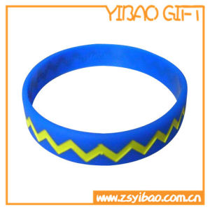 Custom Reflective Silicone Wristband for Promotional Gifts (YB-SW-02) pictures & photos