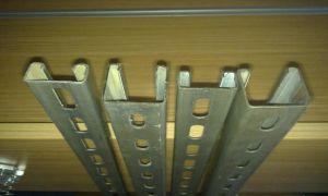 HDG 41*41 Unistrut Plain Channel / C Steel Profile/ C Channel (FACTORY PRICE) pictures & photos