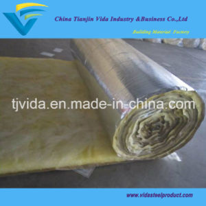 Factory Glass Wool Insulation Blanket with Aluminum Foil Facing pictures & photos
