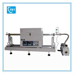 Laboratory CVD MOS2 Thin Film Preparation Sliding Two Zone Rtp Tube Furnace Cy-O1200-50iic-Rtp pictures & photos