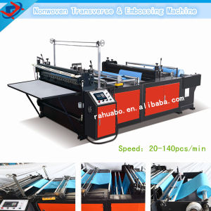 Easy to Operate Nonwoven Ultrasonic Sheet Cutting Machine pictures & photos
