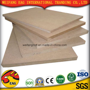 Warm White Melamine MDF Board with Size 1220*2440mm pictures & photos