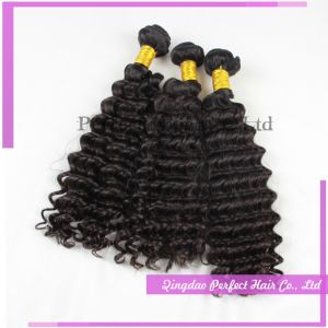100 Virgin Remy Human Hair Deep Wave pictures & photos