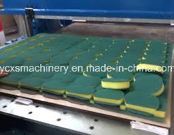 Four Column Precision Hydraulic Die Polyurethane Foam Block Cutter