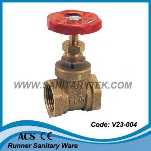 Forged Brass Gate Valve (V23-004) pictures & photos