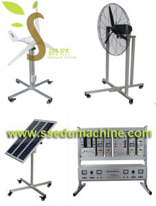 Solar Power Generation System Trainer Photovoltaic Solar Panel Training System Didactic Equipment pictures & photos