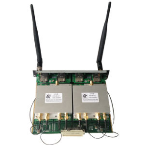 Four-in-One Antenna Splitter Support SMS VoIP GSM Gateway SIP Iax2 Protocal pictures & photos