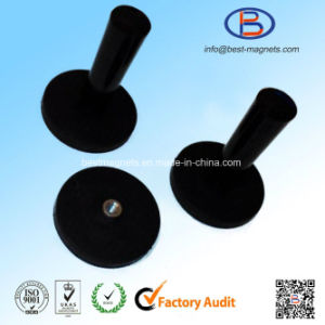 Direct Factory Original Supplier of Rubber Coating Disc 43mm Magnet Pot/Gripper pictures & photos