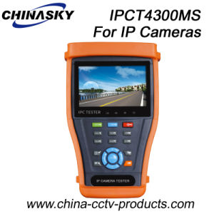 CCTV Security IP Sdi Camera Tester with Digital Multi-Meter (IPCT4300MS) pictures & photos