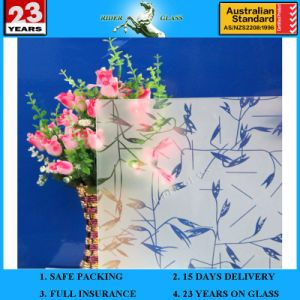 4-19mm Am-13 Decorative Acid Etched Frosted Art Architectural Glass pictures & photos