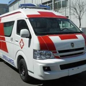 Best Selling Big Jinbei Hiace Ambulance pictures & photos