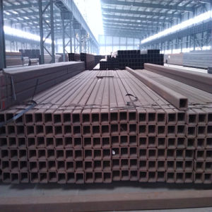 Welded Steel Tube with Black Surface (square shape) pictures & photos