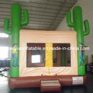 High Quality Inflatable Moonwalk for Jumping Bouncer (CYBC-555) pictures & photos