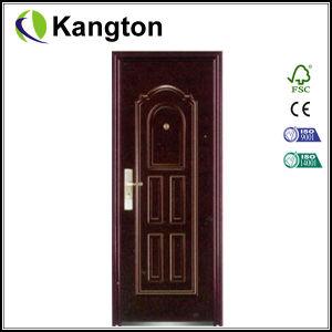 Fasionable Exterior Steel Door 880*2050mm (steel door) pictures & photos