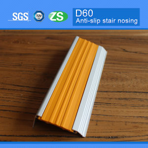 Stair Edge Stair Nose Aluminum Stair Nosing pictures & photos