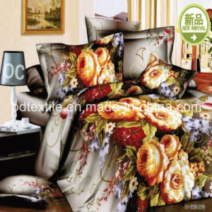 100% Polyester Printed Bed Sheet Fabric pictures & photos