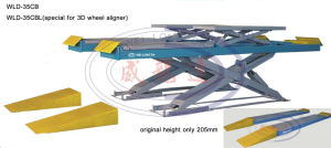 Ultra-Thin Big Scissor Lift Wld-35cbl (special for wheel aligner) pictures & photos