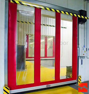 Cleanroom High Speed Roll up Door (HF-1047) pictures & photos