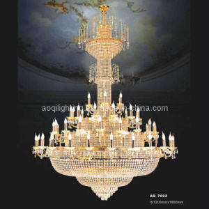 Luxury Golen Hotel Project Crystal Chandelier Light (AQ7002) pictures & photos