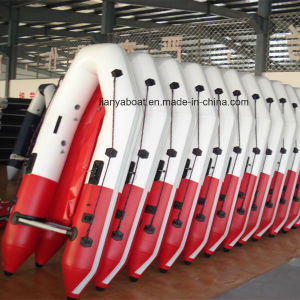 Liya 2-6.5m High Quality China Foldable Inflatable Rubber Boats for Sale pictures & photos