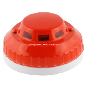 Ceiling Mounted Wired Smoke/Fire Home Alarm (JC-384T)