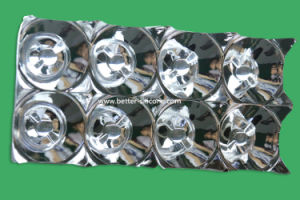 LED Electroplating UV Coating Plastic Light Reflector pictures & photos